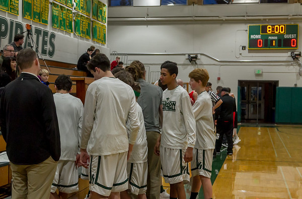 Vashon Island High School Boys Basketball v Port Townsend 12/21/2017