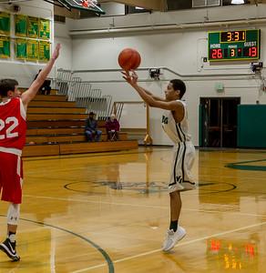 Vashon Island High School Boys JV Basketball v Port Townsend