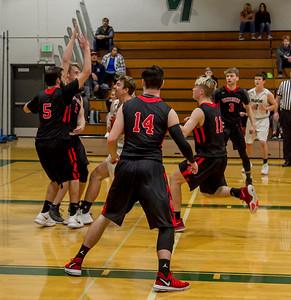 Vashon Island High School Boys Varsity Basketball v Port Townsend