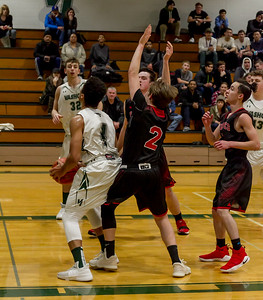 Boys Varsity Basketball v Coupeville