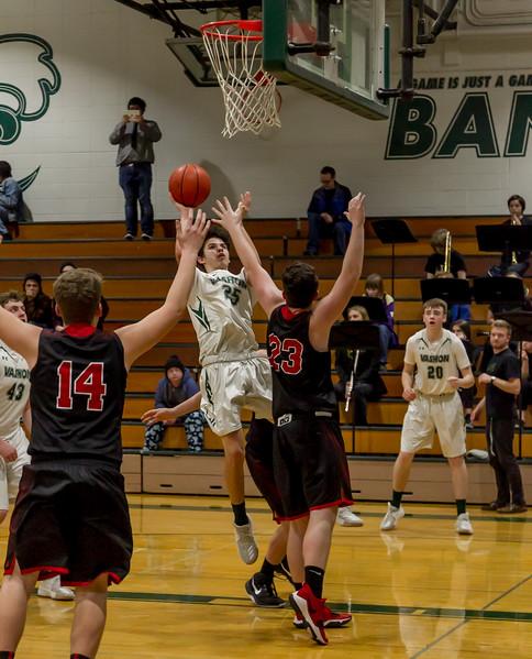 Third Quarter Set five: Boys Varsity Basketball v Coupeville