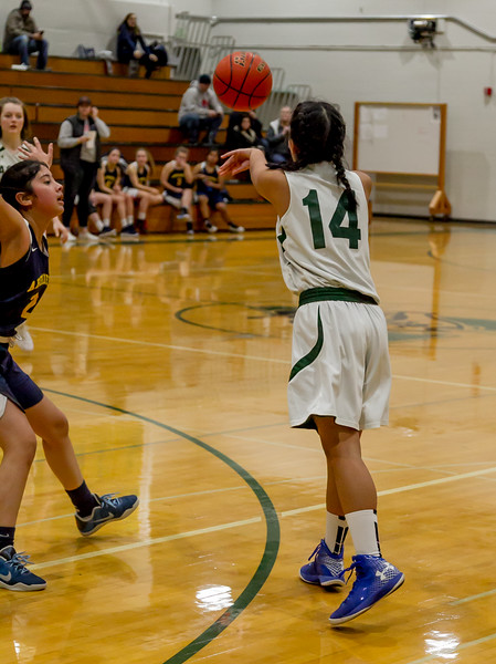 Set four: Vashon Island High School Girls JV Basketball v Aberdeen