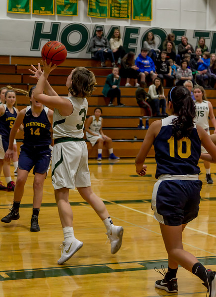 Set six: Vashon Island High School Girls JV Basketball v Aberdeen