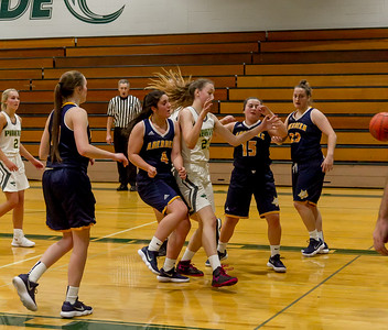 Vashon Island High School Girls Varsity Basketball v Aberdeen