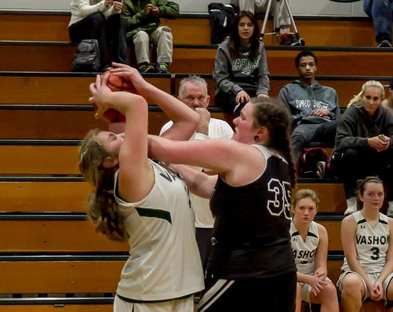 Set four: Girls JV Basketball v Granite Falls