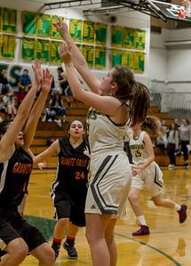 Girls Varsity Basketball v Granite Falls
