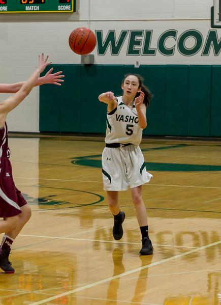 Girls JV Basketball v Holy Names: Set one