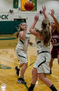 Girls JV Basketball v Holy Names