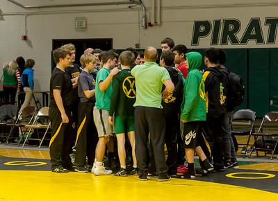 Wrestling v Lake Stevens Post-Match