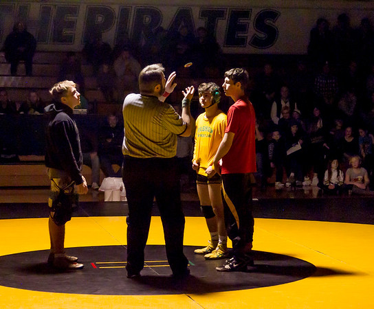Wrestling v Lake Stevens Weight Class Matches: Warmups and Introductions
