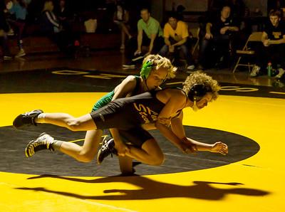 Wrestling v Lake Stevens Weight Class Matches Set five