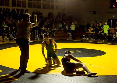 Wrestling v Lake Stevens Weight Class Matches Set three