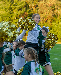 Cheer and Pirate Pals 2017 at Football v Coupeville 09/29/2017