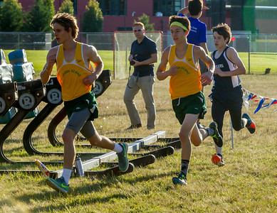 Boys Race Set one: Cross Country Nisqually Meet on Vashon Island 2017 10/03/2017