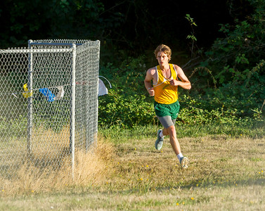 Boys Race Set two: Cross Country Nisqually Meet on Vashon Island 2017 10/03/2017