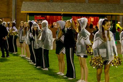 Vashon Island High School Fall Cheer at Football v  Cascade Christian 10/06/2017