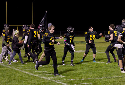 Postgame Celebration: Vashon Island High School Football v Port Townsend