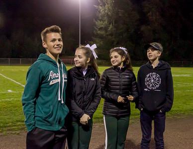 Vashon Island High School Homecoming Court 2017
