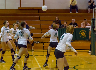 Varsity Volleyball v Concrete 09/11/2017