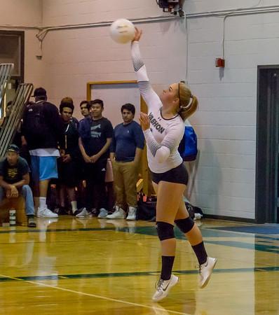 Set seven Game three: Varsity Volleyball v Concrete 09/11/2017