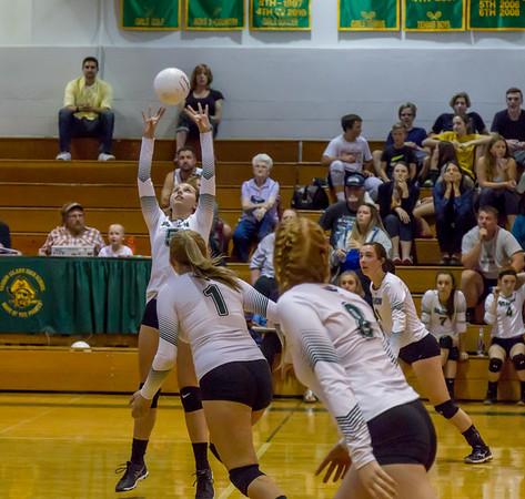 Set six Game three: Varsity Volleyball v Concrete 09/11/2017