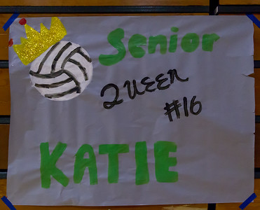 Vashon Island High School Volleyball Seniors Night 2017 10/18/2017