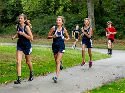 6th Grade Combined Race, Cross Country Nisqually Meet 2 on Vashon Island 2018 10/02/2018