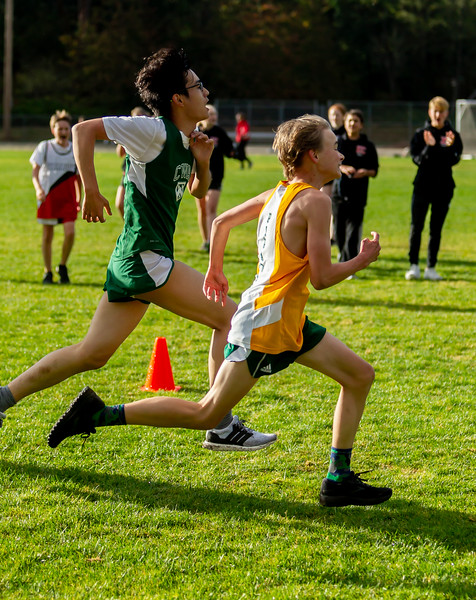 The Finishes, Set five: High School Boys Cross Country Nisqually 2 Meet 10/02/2018