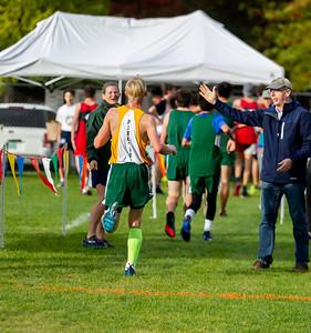 High School Boys Race Nisqually Meet 2 10/02/2018