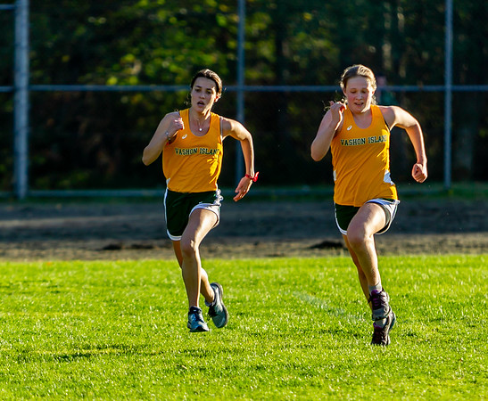 The Finishes, Set four: High School Girls Cross Country Nisqually 2 Meet 10/02/2018