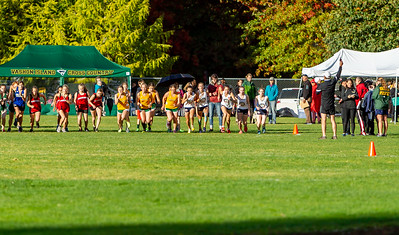High School Girls Race Nisqually Meet 2 10/02/2018