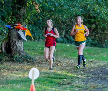 High School Girls Race Nisqually Meet 2 10/02/2018