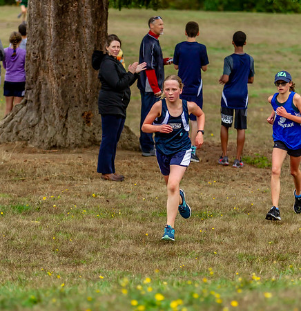 Set one: Middle School Girls Cross Country Nisqually Meet 2 10/02/2018