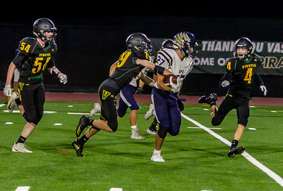 Vashon Island High School Football v Cedar Park at Opening Night 2018