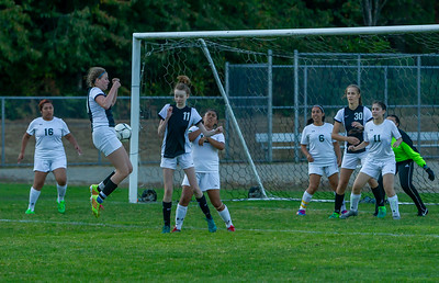 Girls Varsity Soccer v Evergreen