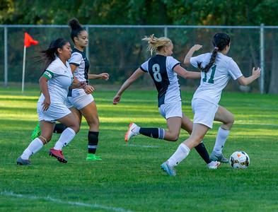 Girls Varsity Soccer v Evergreen