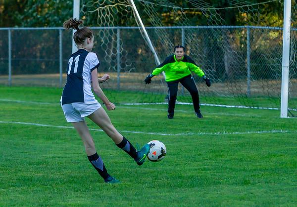 Set two: Girls Varsity Soccer v Evergreen 09/04/2018
