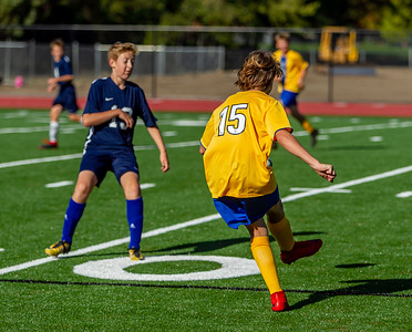McMurray Mustangs Boys Soccer v Annie Wright 09/25/2018