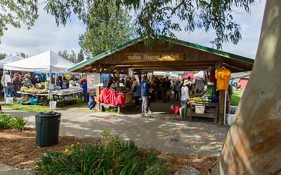 Vashon Island Farmers Market Opening Day 2016
