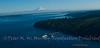 Northend Ferry, Puget Sound, Mt Rainier.