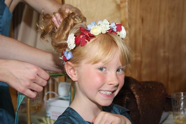 Flower Girl and Ring Bearer portraits