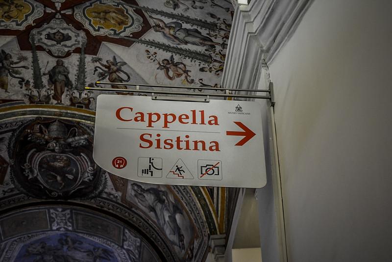 Vatican City Sistine Chapel