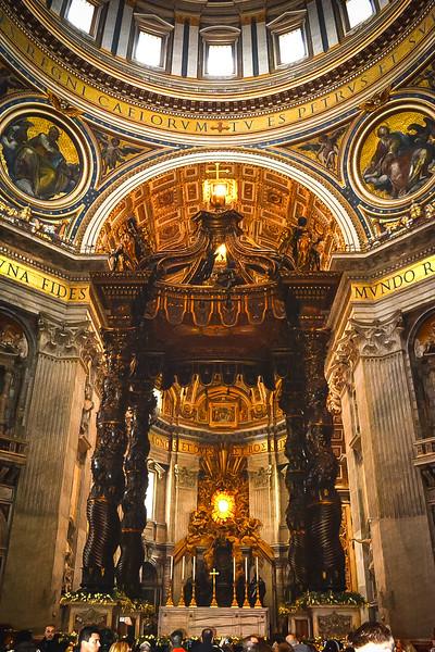 Vatican City St Peters Basilica