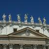 Detalhe da Basílica de São Pedro