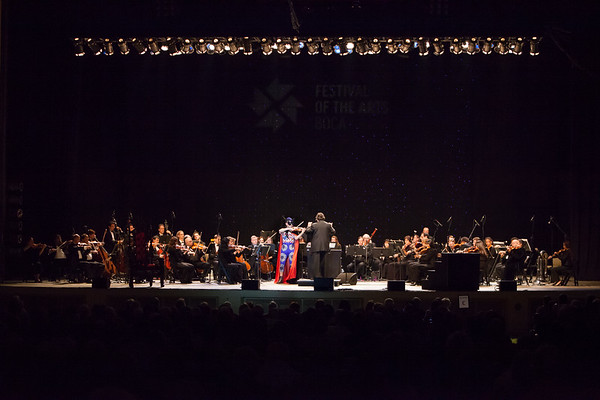 2013 Festival of the Arts BOCA presents Amadeus Leopold, violin; Constantine Kitsopoulos, conductor and Festival Music Director; with Boca Raton Symphonia