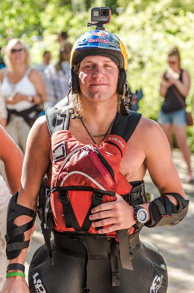 Dane Jackson, Pro Kayaker