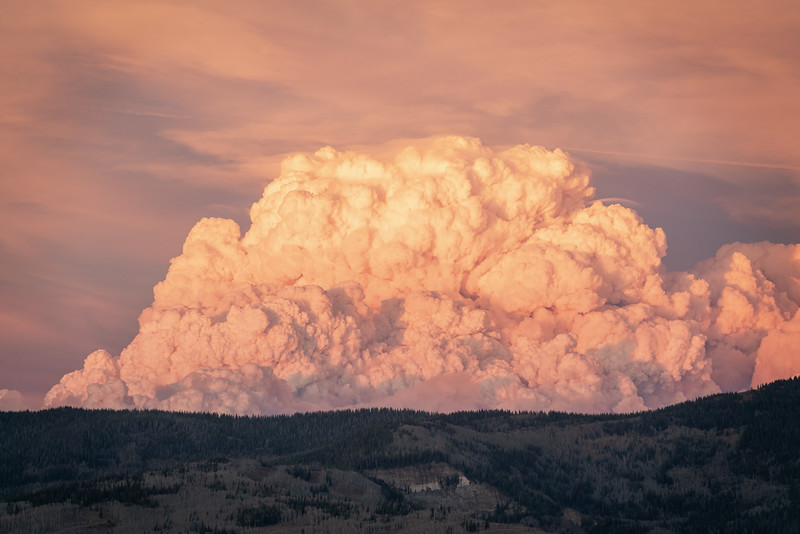 East Troublesome Fire, Colorado (2020)
