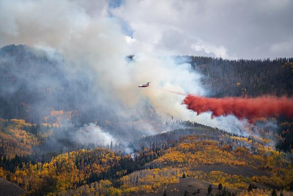 The Ptarmigan Fire, Sept 2021