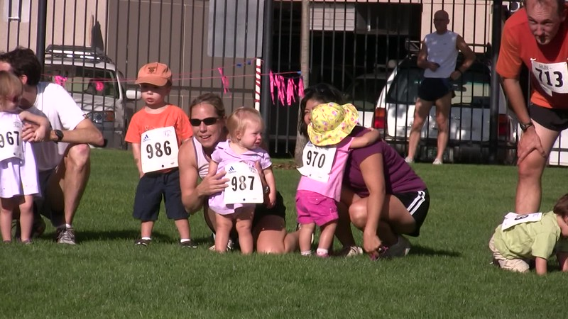 2008-07 Sophia's 1st Race