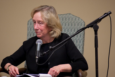 Authors Doris Kearns Goodwin and Richard Goodwin speak  at the fourth annual Festival of the Arts BOCA in Boca Raton, Florida.